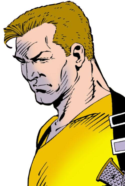 Rick Flag of the Suicide Squad (post-Crisis DC Comics) portrait