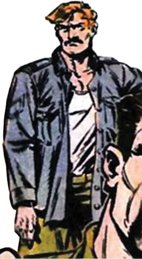Rick Flag Sr. (Suicide Squad of World War 2) (DC Comics) (War that Time Forgot) in a gray vest