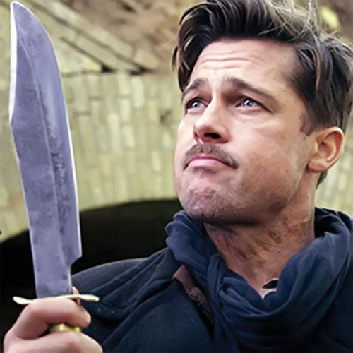 Brad Pitt in Inglorious Basterds 1/2