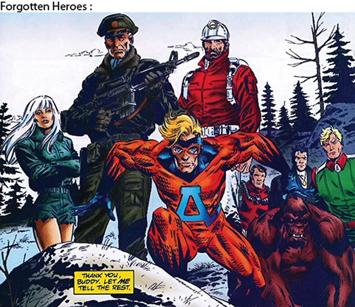 Rick Flag, Jr. and the Forgotten Heroes