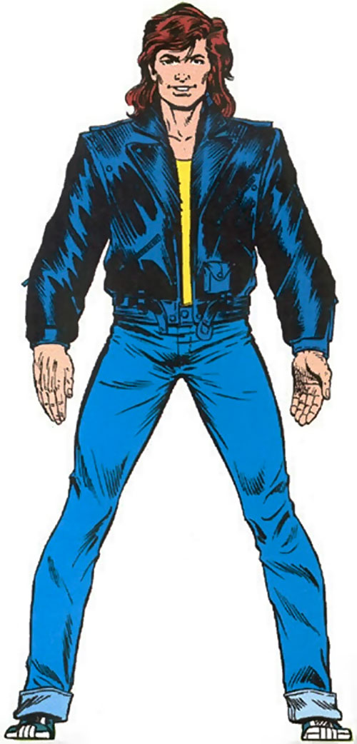 Rick Jones (Marvel Comics) from the master edition handbook