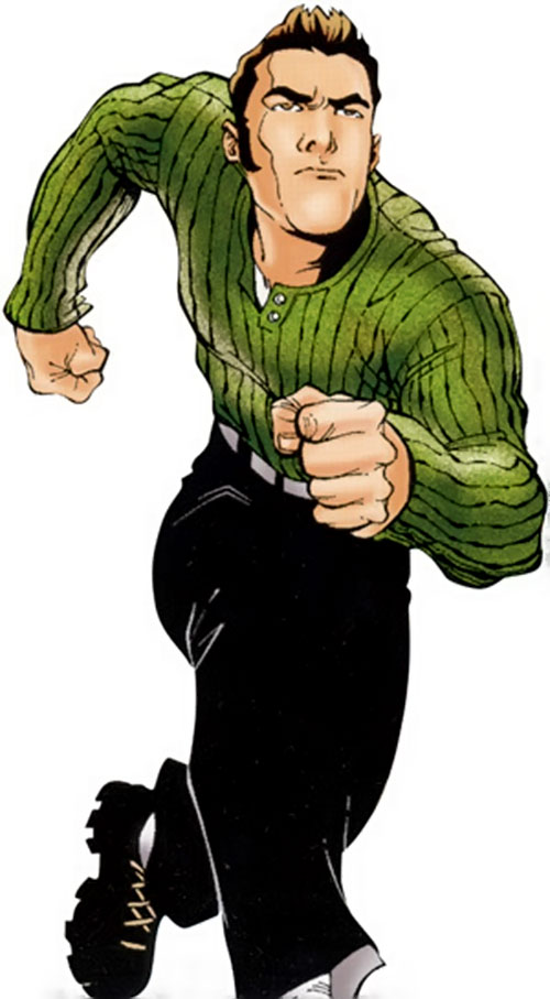Rick Jones (Marvel Comics) running