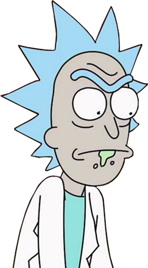 Rick Sanchez from Rick & Morty