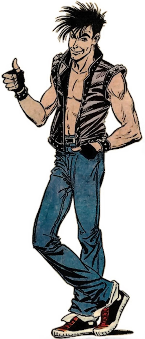 Rictor of X-Force (Marvel Comics) during the 1980s