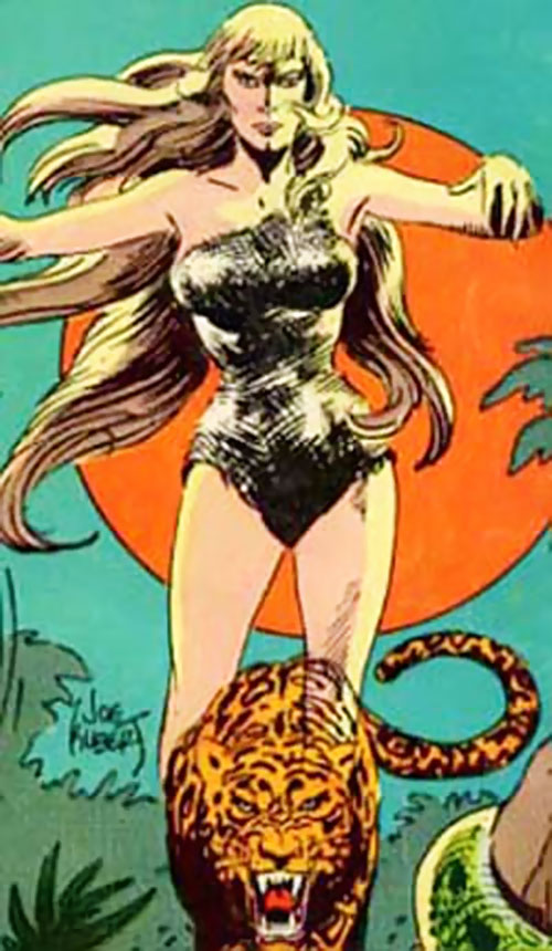 Rima the Jungle Girl (DC Comics Green Mansions adaptation)