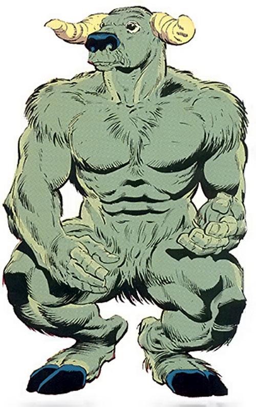 Rintrah (Doctor Strange ally) (Marvel Comics) the minotaur