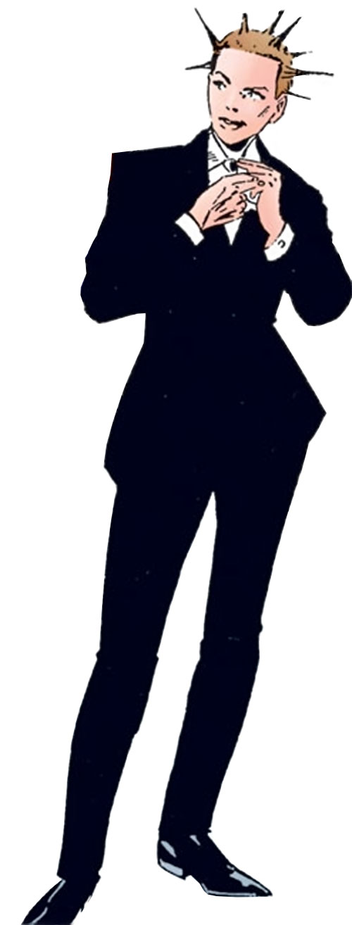 Riot (Skrull Kill Krew) in a black suit