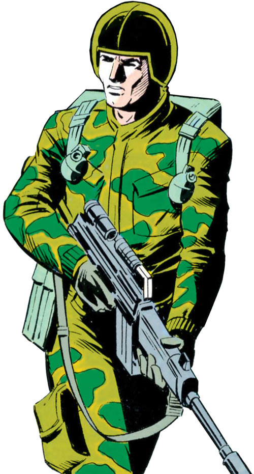 Ripcord - G.I. Joe - 1980s Marvel comics