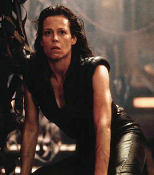 Ripley-8 (Sigourney Weaver) in leather