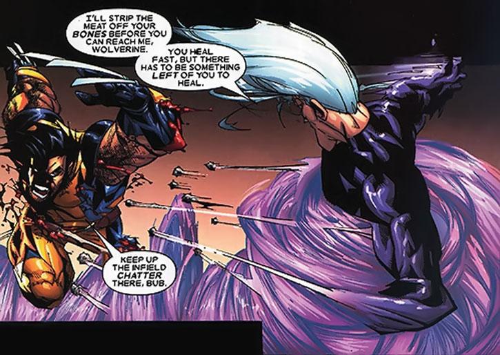 Riptide vs. Wolverine