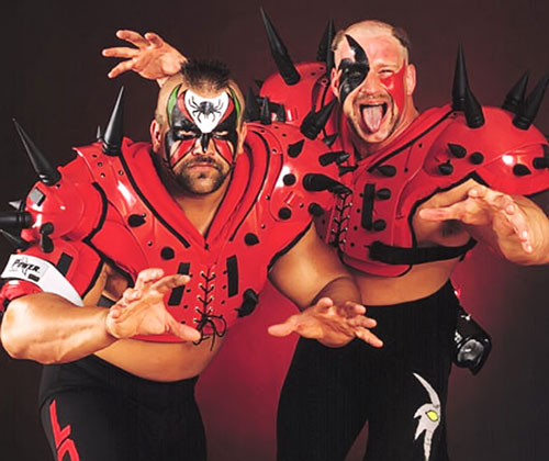 The Road Warriors (Hawk and Animal wrestling duo)