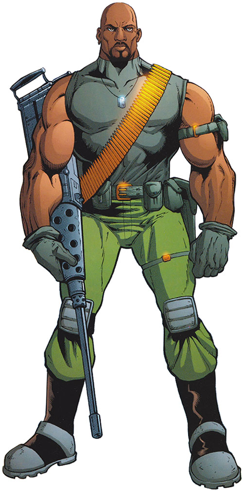 G I Joe Cartoon Characters : Roadblock i gi joe character profile writeups
