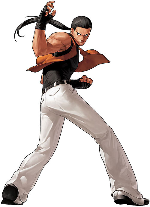 Robert Garcia (Fatal Fury / King of FIghters) back view
