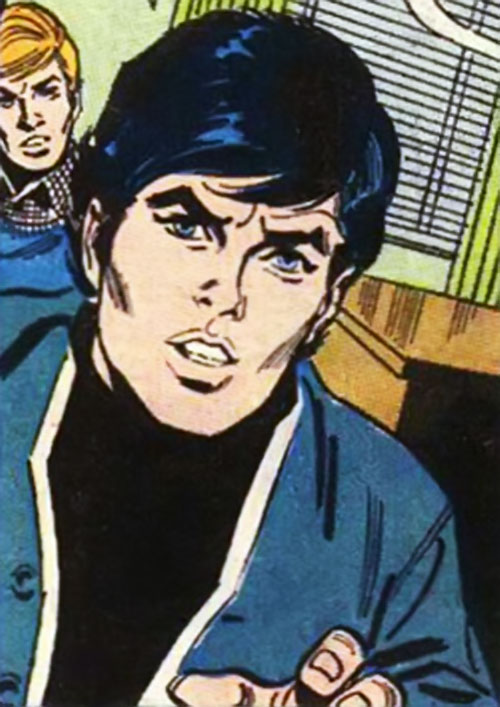 Robin (Dick Grayson) (DC Comics) in 1972 - in his civvies
