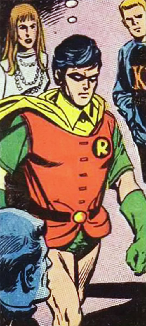 Robin (Dick Grayson) (DC Comics) in 1972