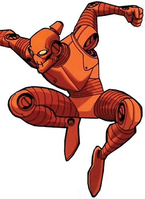 Robot (Invincible comics) leaping