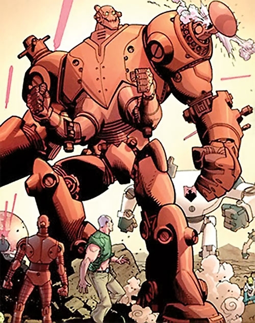 Robot (Invincible comics) giant body
