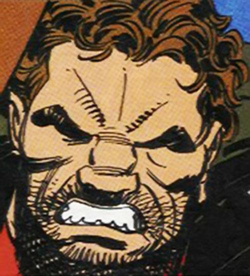Roc (Punisher enemy) (Marvel Comics) face closeup