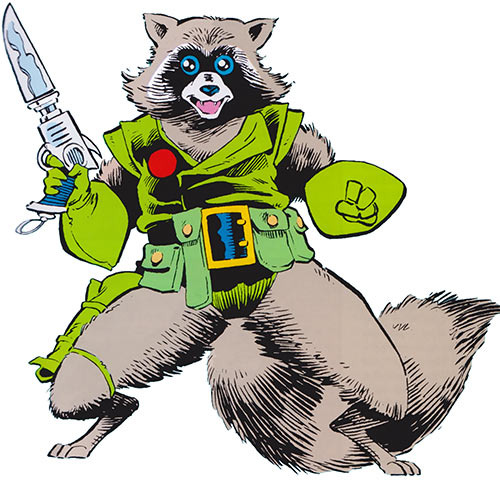 Rocket Raccoon (Marvel Comics) (Classic Mantlo)