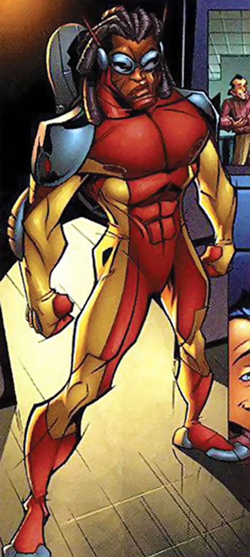 Rocket Racer (Spider-Man character) (Marvel Comics) 2000s costume