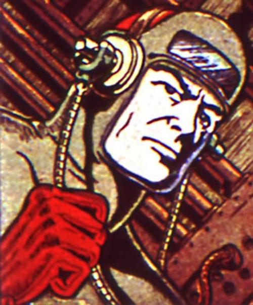 Rockman (USA Comics) face closeup