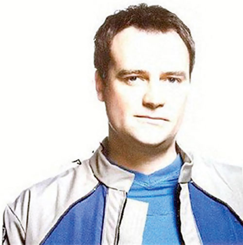 Rodney McKay (David Hewlett in Stargate Atlantis) portrait