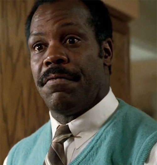 Roger Murtaugh (Danny Glover in Lethal Weapons movies) face closeup