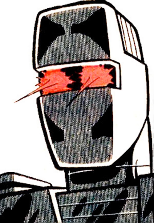Rom the Space Knight (Marvel Comics) head closeup