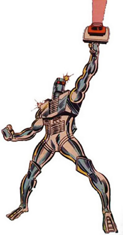 Rom the Space Knight (Marvel Comics)brandishing his neutralizer