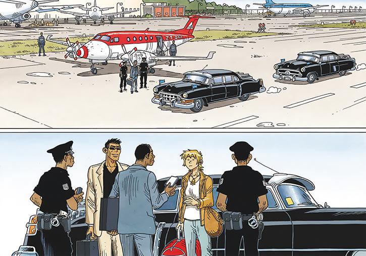 Romane Pennac - Mermaid Project Comic BD - Officials customs airport