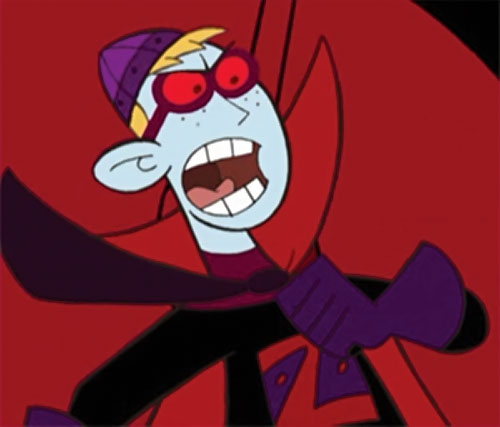 Ron Stoppable (Kim Possible ally) (Disney) as Zorpox, yelling