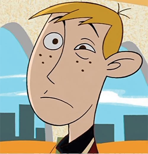 Ron Stoppable (Kim Possible ally) (Disney) face closeup