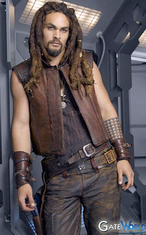 Ronon Dex (Jason Momoa in Stargate Atlantis)