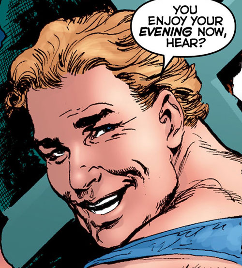 Roustabout (Astro City comics) face closeup