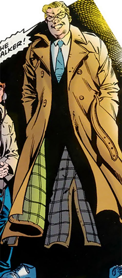 Roy Raymond Jr. the Manstalker (Robin character) (DC Comics)