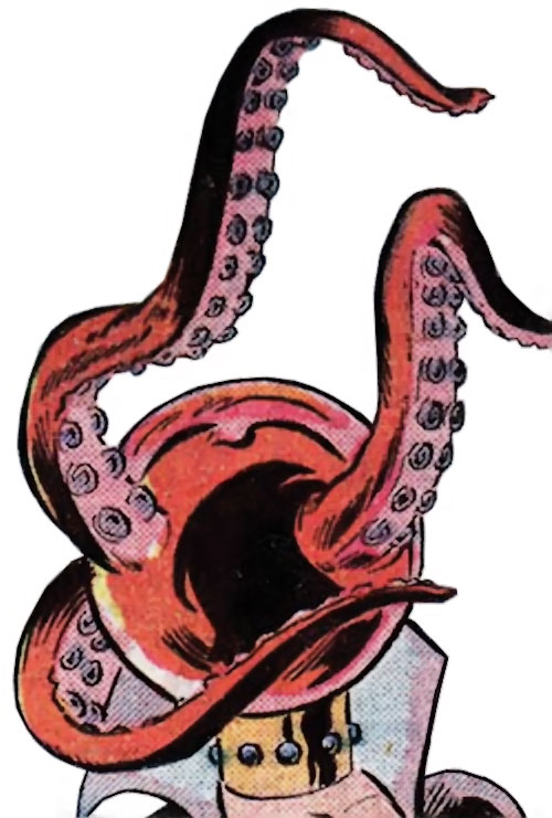 Ruby Thursday (Marvel Comics) grows tentacles from her head