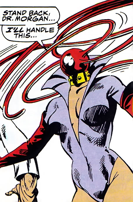Ruby Thursday (Marvel Comics) creates multiple whips from her head