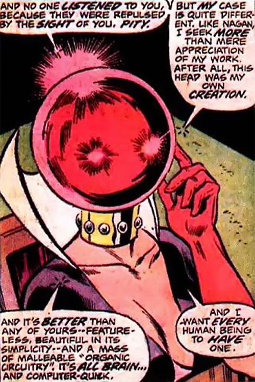Ruby Thursday (Marvel Comics) speechifying