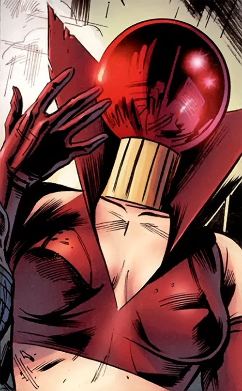 Ruby Thursday (Marvel Comics) enhanced body