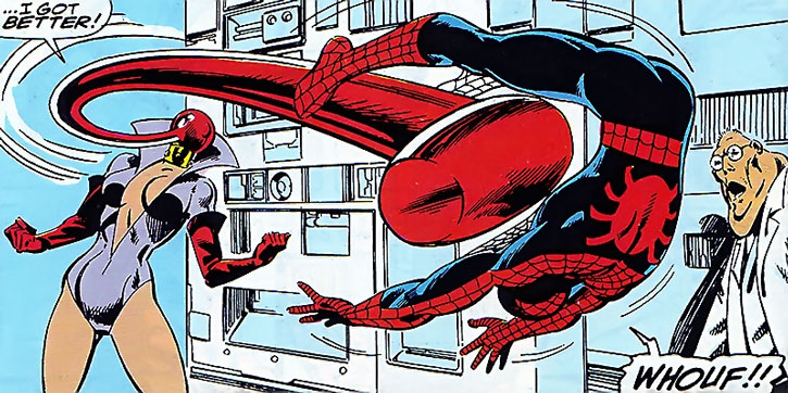Ruby Thursday vs. Spider-Man