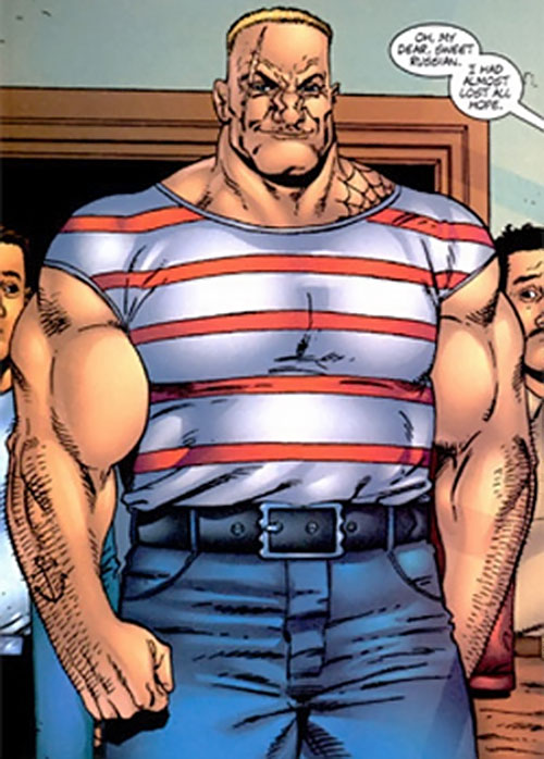 The Russian (Punisher enemy) (Marvel Comics)
