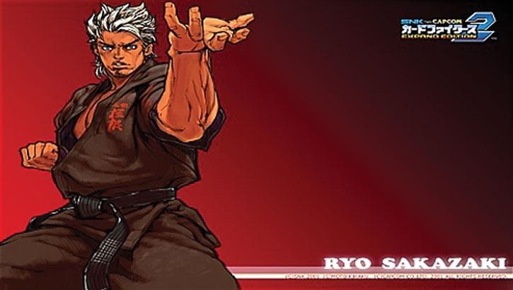 Ryo Sakazaki poster