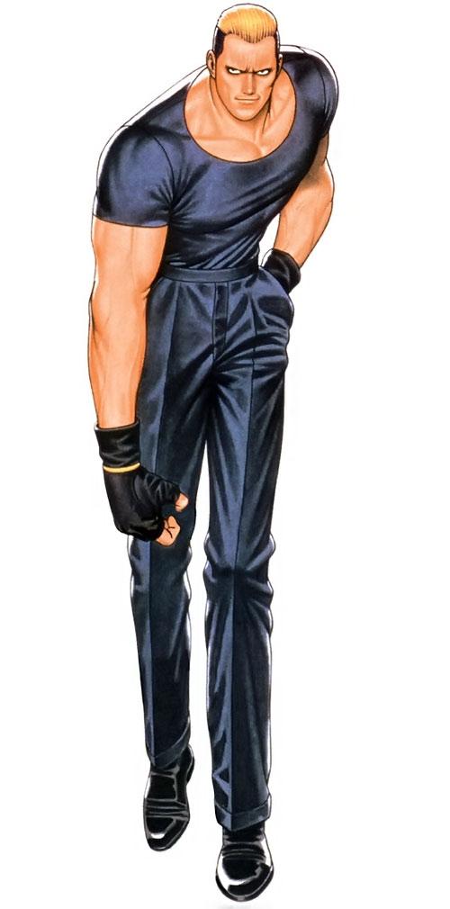 Ryuji Yamazaki (King of Fighters)
