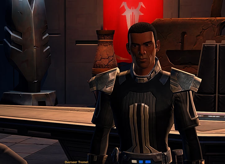 Star Wars the Old Republic -SWTOR - Overseer Tremel