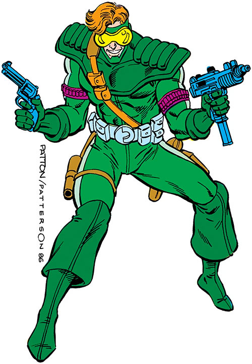 Saber (Vigilante enemy) (DC Comics)