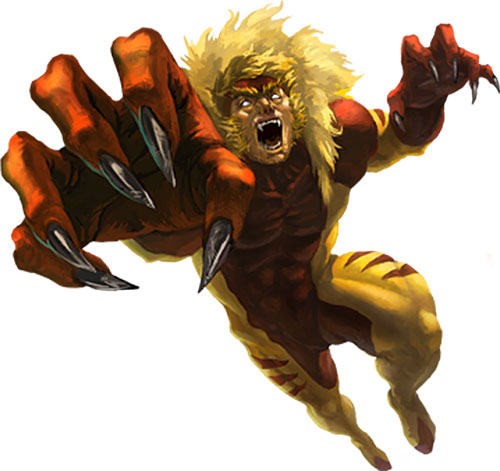 Sabretooth (Wolverine enemy) (Marvel Comics)