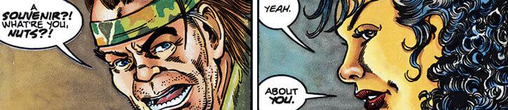 Sachs and Violens (Peter David Comics) face closeups