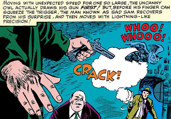 Sad Sam Simms (Marvel Comics) (Daredevil enemy) sharpshooter