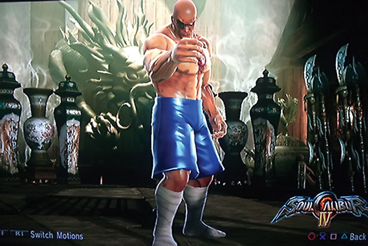 Sagat in Soul Calibur IV