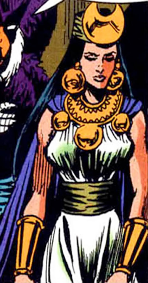 Salamanca of Super-Malon (DC Comics) looking sad